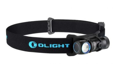 Photo of Olight H2R zaklamp en hoofdlamp in één