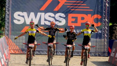 Photo of TEAM TREK SELLE SAN MARCO WINT HET ZWITSERSE EPIC